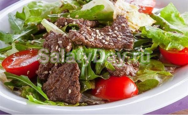 Свадебный салат. Салат Принц