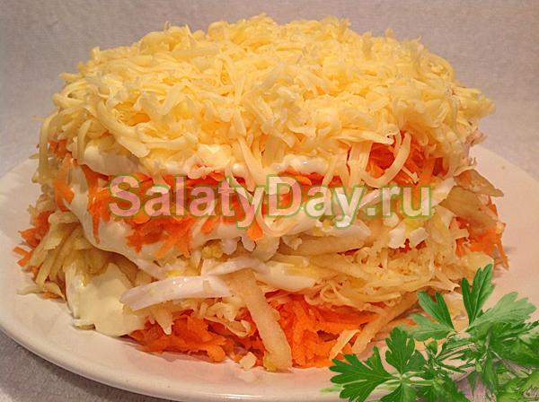 Салат с сырой морковью рецепты