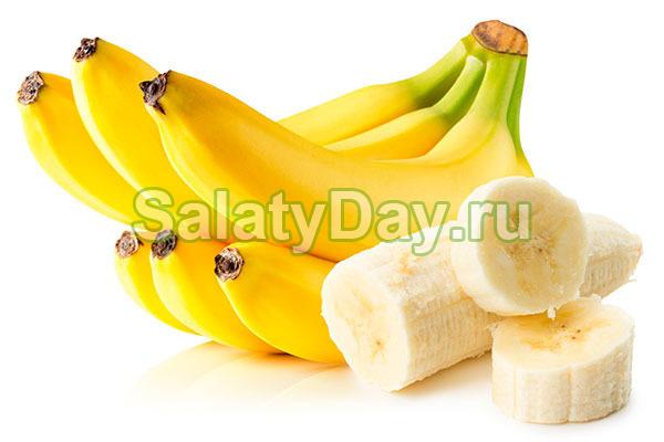 """""""Итальянский"""" салат с бананами"""