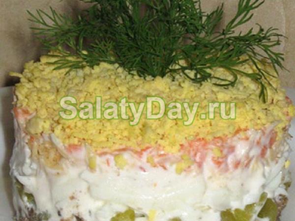 салат мужские слезы рецепт с маринованным луком и