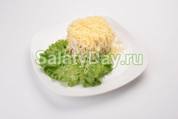 русская красавица салат рецепт с картошкой и