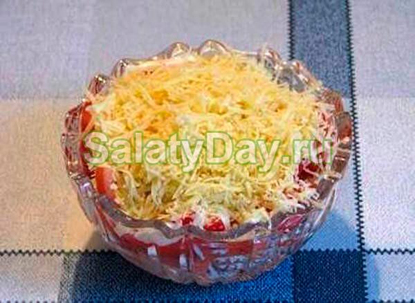 Салат Восточный с копченой колбасой
