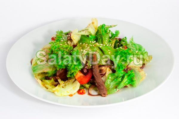 Салат восточный диетический