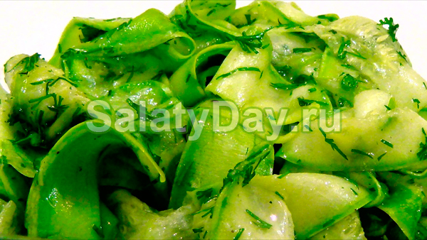 Салат из кабачков по-Восточному