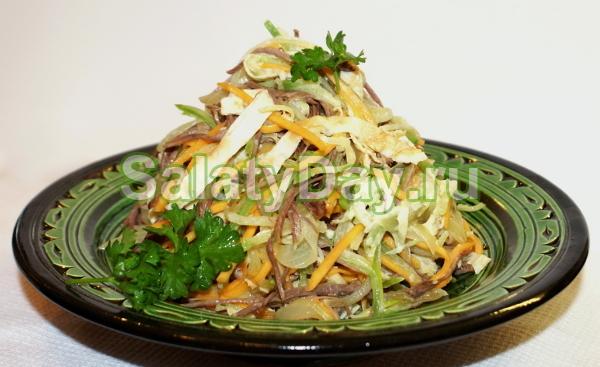 Рецепты с редькой дайкон с фото