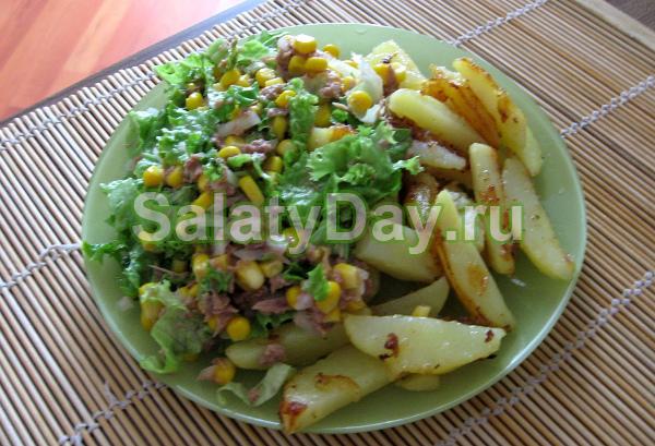 Рецепт вторых блюд с консервированным тунцом с фото