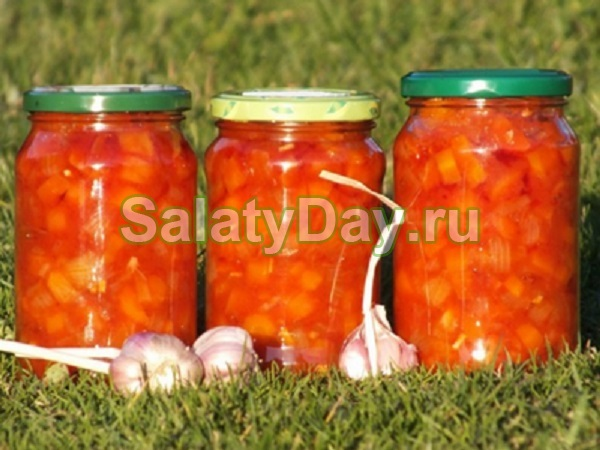 Морковь с чесноком на зиму рецепт с фото