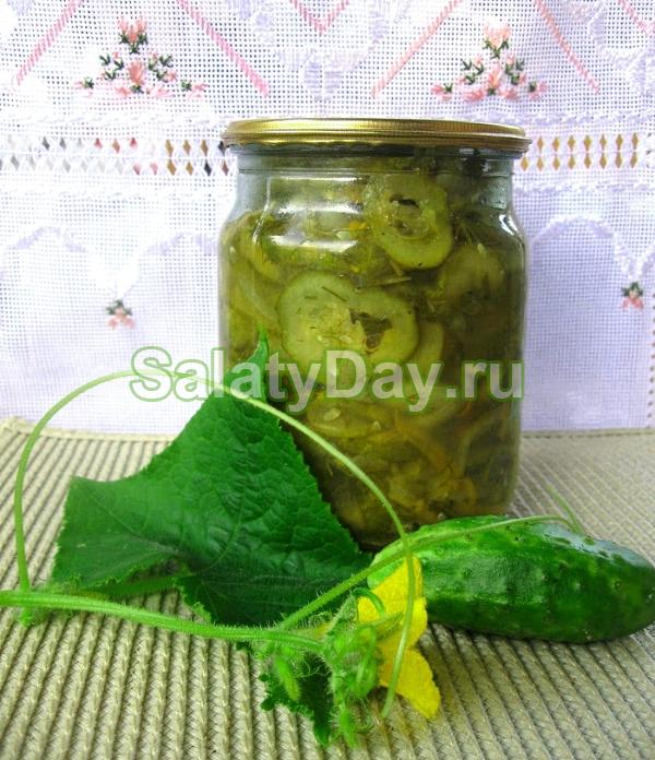 салат нежинский на зиму рецепт с фото