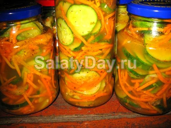 Салат Нежинский на зиму - сохранить лучшее! рецепт с фото и видео