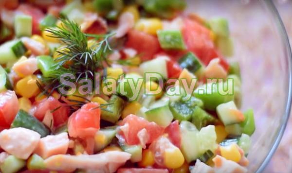 парижель салат рецепт с фото
