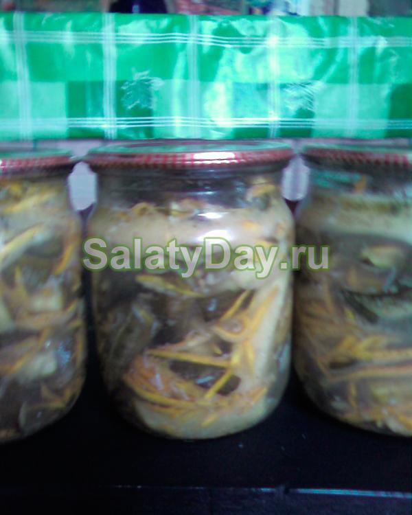 Огурцы по-корейски с капустой