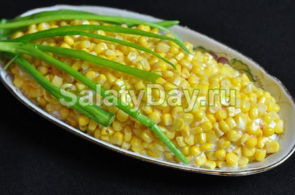 Салат «Кукурузка»