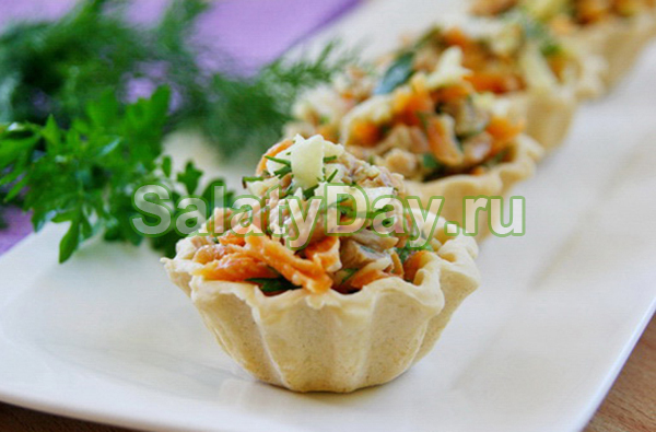 Мясо в тарталетках рецепт