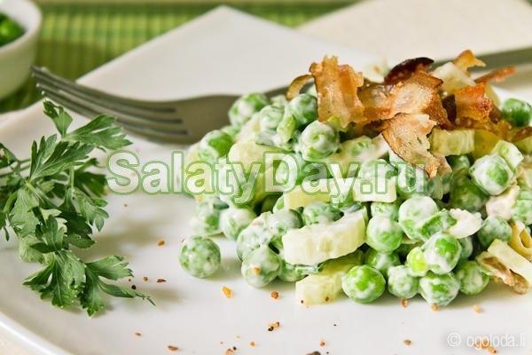 Пикантный салат с листовым сельдереем