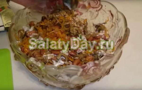 Салат «Печёночный»
