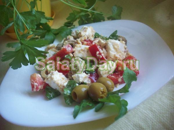 """Салат «Греческий"""" с сыром «Фета»"""