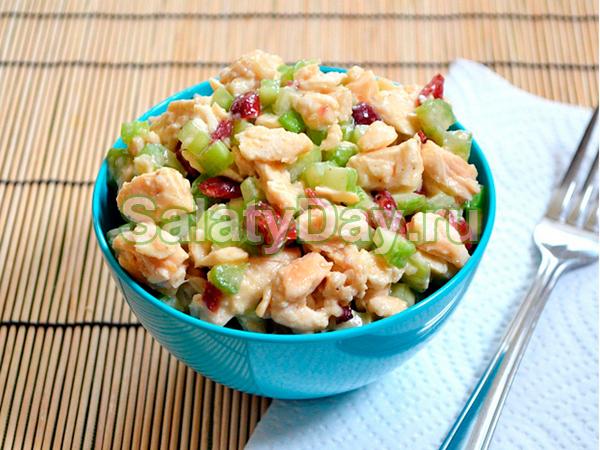 Салат из пупков куриных - пикантный