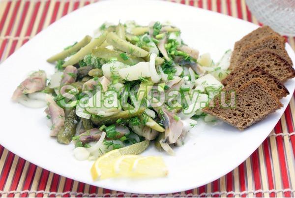 Салат на скорую руку – «Гусарский»