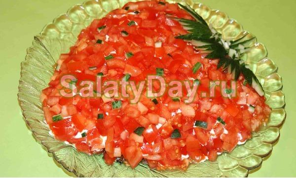 Рецепты салатов к праздничному столу фото