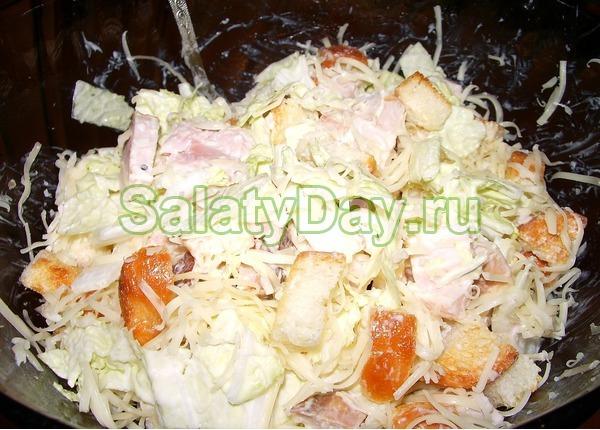 Салат малибу рецепт фото