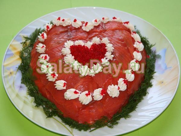 Салат для влюбленных