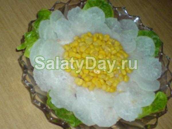Рецепты салатов с фотографиями ромашка