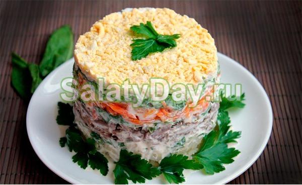 Салат для красного петуха