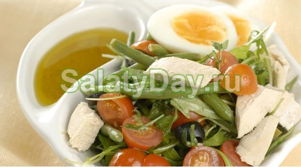 зеленая фасоль с курицей рецепт с фото