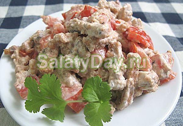 Салат из шпрот — презентабельная закуска с оригинальным вкусом: рецепт с фото и видео 50