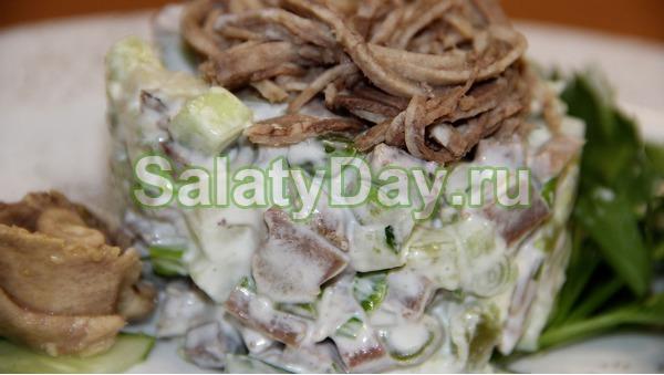Салат из говяжьего языка – «Херсонский»