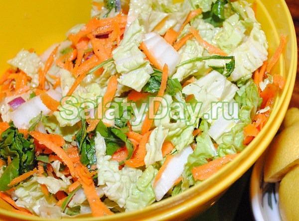Салат из китайской морковки