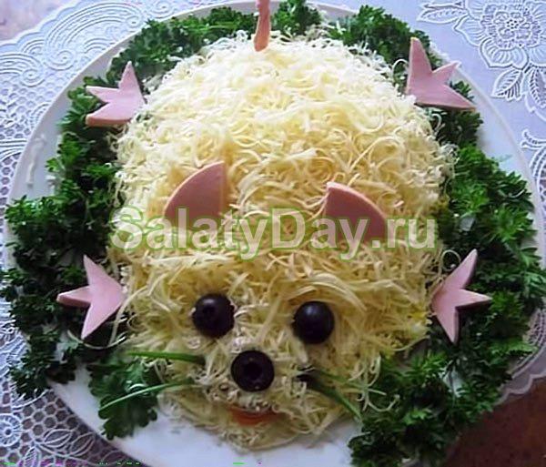 Салат «Мышка»