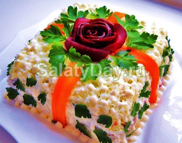 Салат «Праздничный» диетический