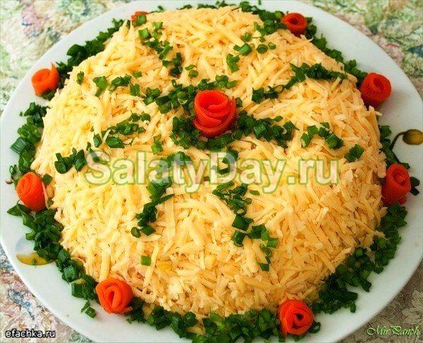 Салат «Береза»