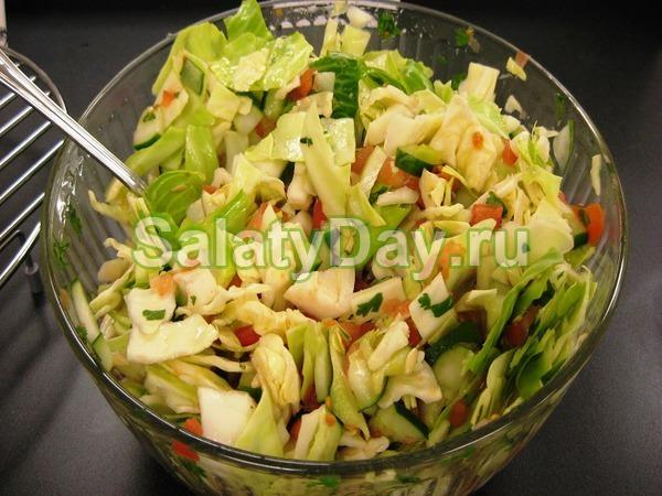 Свежий салат из пекинской капусты рецепты