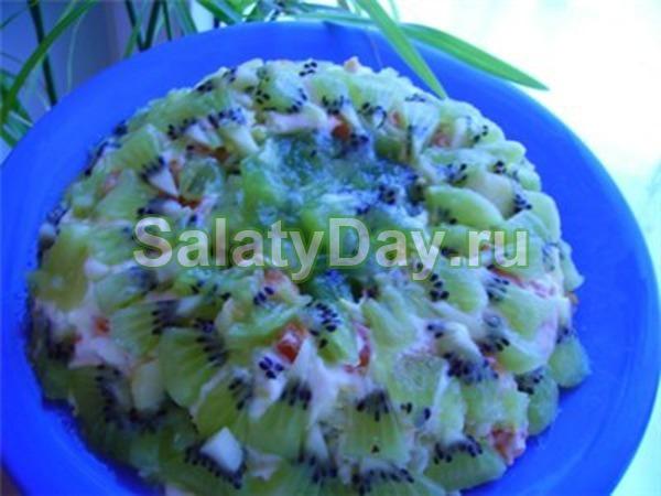 Салат малахитовая шкатулка и