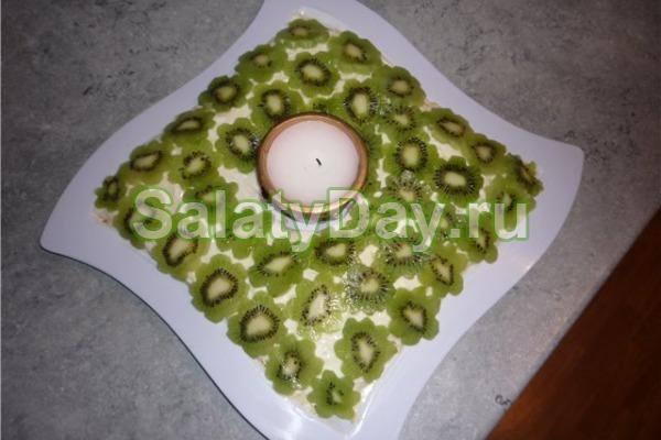 Салат малахитовая шкатулка фото