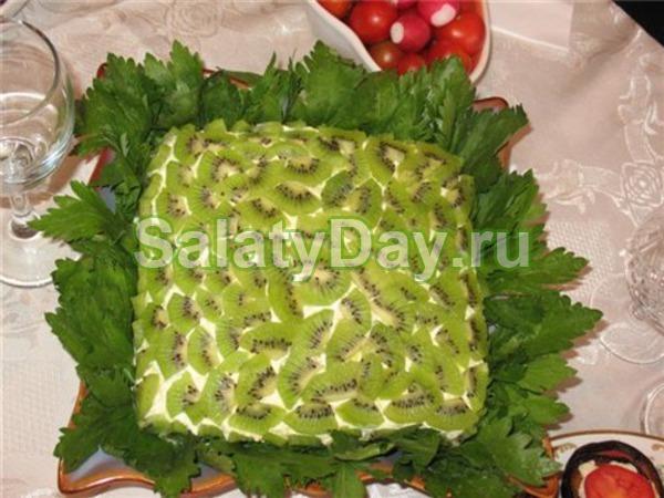 Малахитовая шкатулка салат рецепт