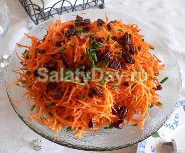 Фото рецепты салатов с вареной морковью