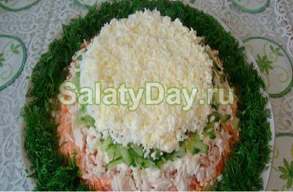 Салат «Принц» с сыром