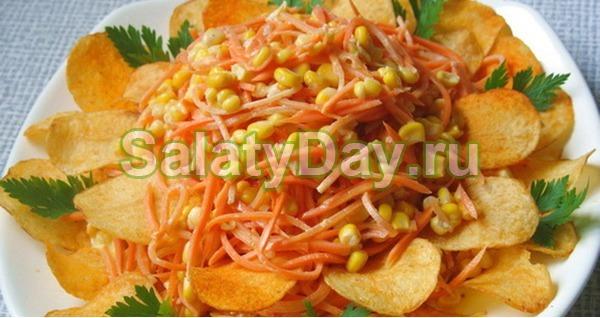 салат парус рецепт с фото