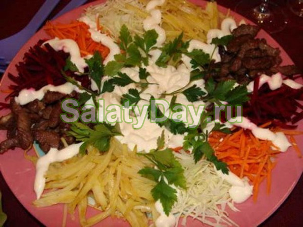 салат чафан с корейской морковкой рецепт