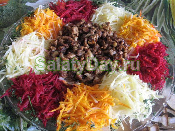 Салата чафан рецепт