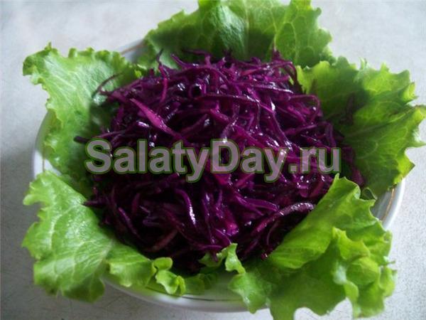Как сделать салат из черной редьки с майонезом