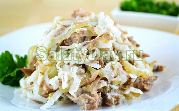 Какой салат можно сделать из редьки 353
