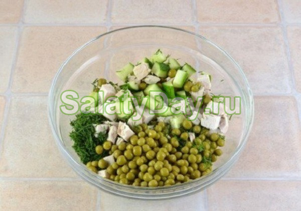 Быстрые и вкусные салаты