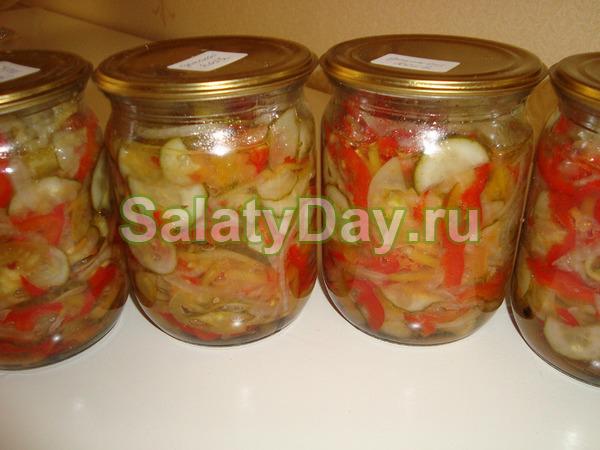 Салат московский на зиму