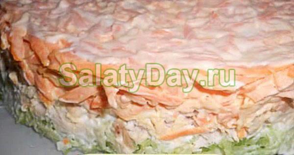 Салат Мужской каприз с маргеланской редькой зеленой