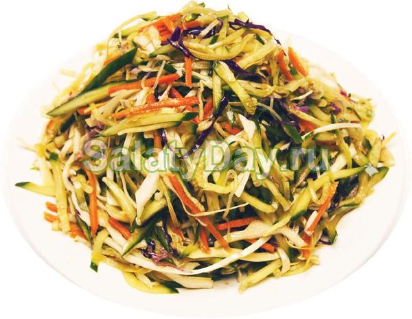 Салат из капусты по-китайски рецепт