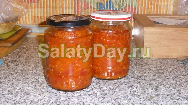 Как сделать салат из морковки на зиму